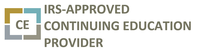 IRS Approved Continuing Education Provider San Diego